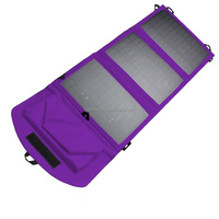 10.5 w / 5 v folded solar charge package / 5 v voltage of solar panels/rechargeable all mobile phones and mobile power supply