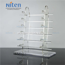 For 12 pairs sunglasses luxury clear acrylic eyewear display stand