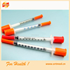 Needle retractable safety insulin syringe 1ml
