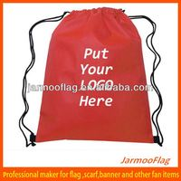 cheap custom 80gsm non woven fabric drawstring bags