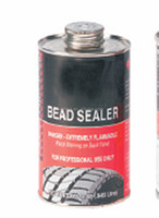 Tire repair bead sealer