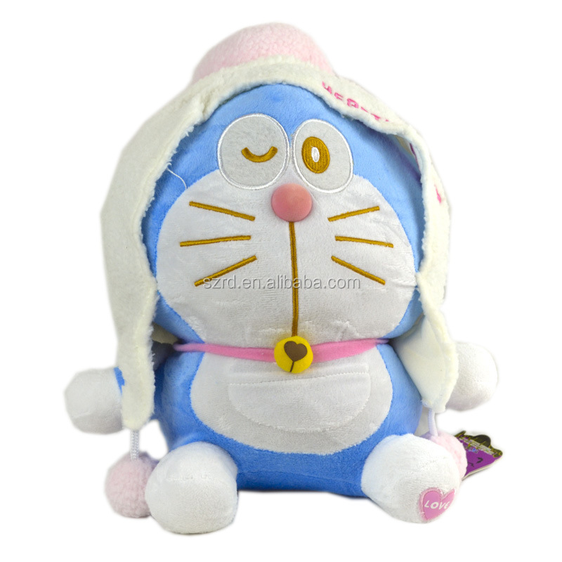 Doraemon animal best sale gifts/new kids toys 2017/plush soft baby toys