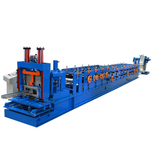 Fully Automatic C Z Purlin Roll Forming Machinery for Structure Building Materials