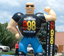 Hot sale Giant inflatable advertising man, inflatable muscle man