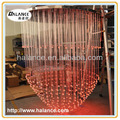 optical fiber big chandelier for ballroom lighting