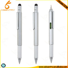5 in 1 multi function stylus ball pen with scale tool, digital pen tablet