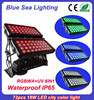 72pcs 18w 6 in 1 rgbwauv ip65 outdoor building projection lighting