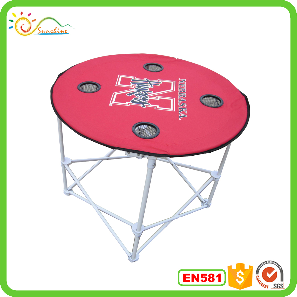 New Ultra-light Steel Portable Folding Table Camping Outdoor Picnic Table