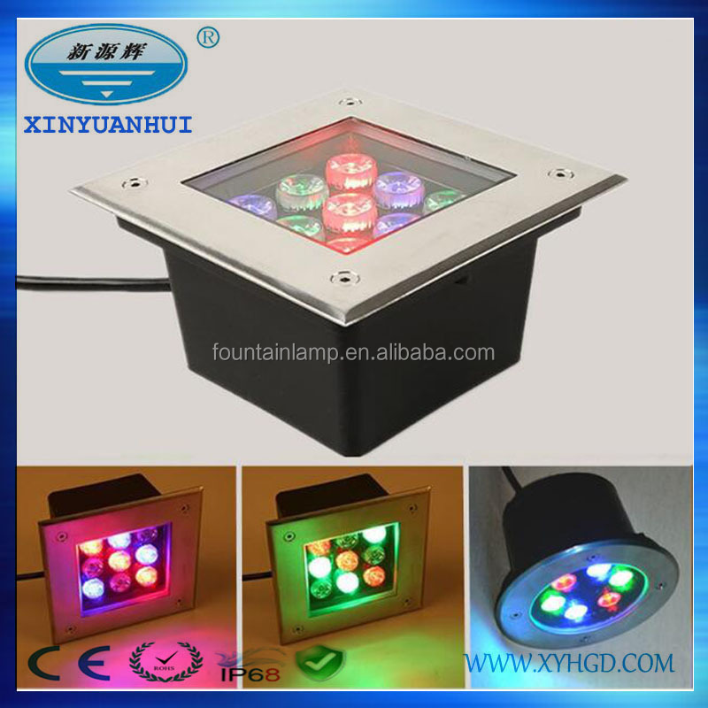 New design led outdoor lighting led lights in concrete inground light