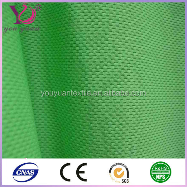 High quality antistaitc fluorescent polyester mesh fabrics for winter ware