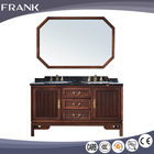 FRANK New issue luxury beauty furniture antibacterial glazed tiles bathroom vanity double sink