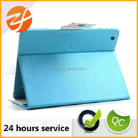 Custom design leather book case for Ipad 4,for ipad 4 leather case,wallet case for ipad 4