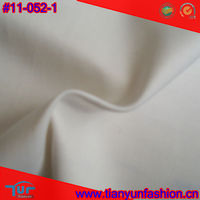 polyester spandex plain dyed pongee cotton fabric