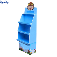 Top Quality Custom Cardboard Popcorn Cookies Display Stand