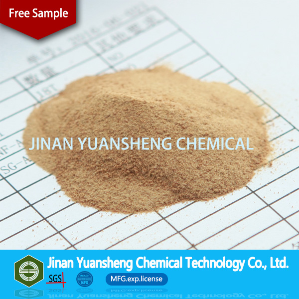 Chemical additive for concrete sodium naphthalene sulfonic acid formaldehyde