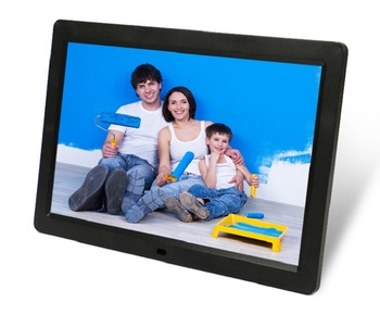 wide screen video playback lcd digital photo frame 12 for advertising