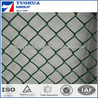 high quality safety chain link fence with razor blade