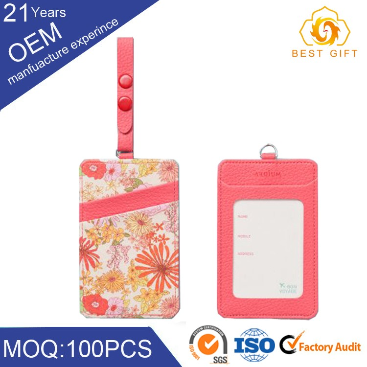 Promotional custom unique bag luggage id tags with personal information
