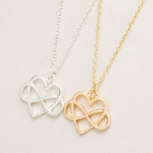 2016 Latest Design Pure Gold S925 Silver glowing broken heart chain necklace