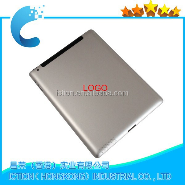 Original Quality Replacement Parts Rear Back Housing for iPad 2 16GB 32GB or 64GB (3G + wifi version)