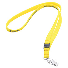 Customed fashion soft polyester hollow belt lanyard