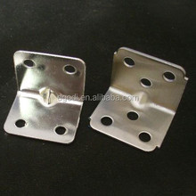 custom made galvanized steel angle bracket, 45 angle bracket