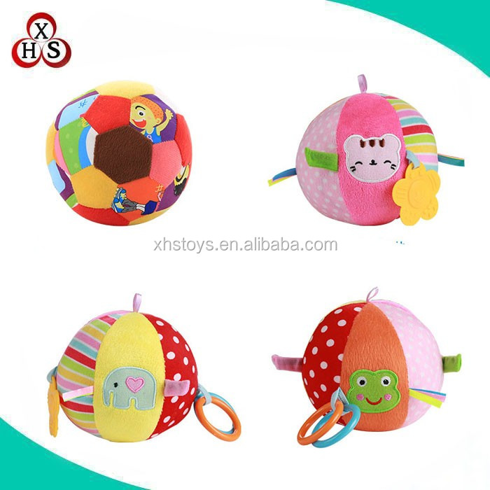 custom plush ball toy soft baby ball stuffed toys