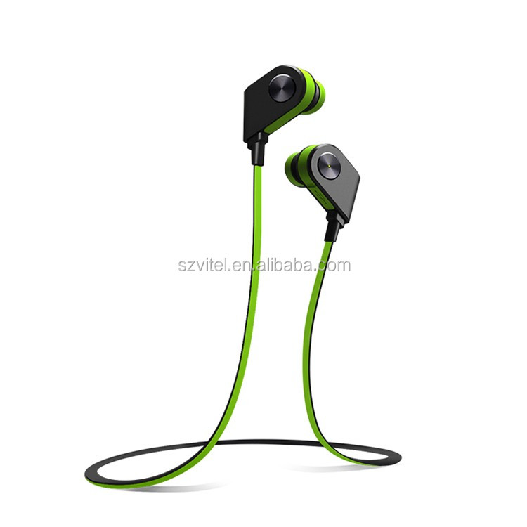 2016 wireless bluetooth sport mini earbuds earpiece stereo sound V4.1 chip magnetic power V8