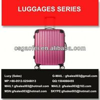 2013 hot sell abs hard cover luggage for luggage using for luggage