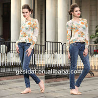 Formal modern design long sleeves silk blouse WT1207