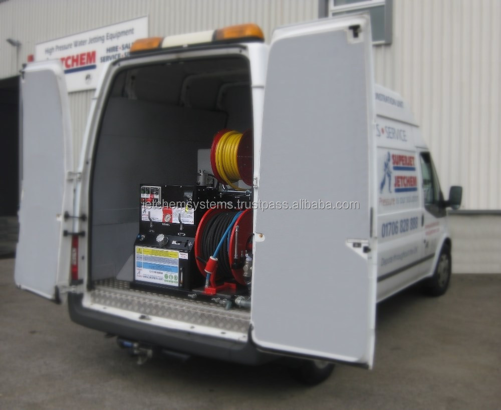 High Pressure Water Jetting - Van Mounted Pack