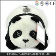 China Custom Soft Panda Doll Plush Panda Coin Bank for Kids Gift