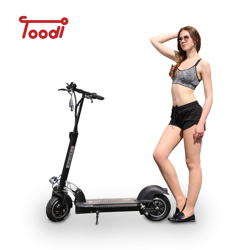 High-end speedway 10 inch 500w scooter wheel electric foldable motor scooter