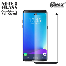 Hot selling !! Ultra thin waterproof smart phone tempered glass screen protector for Samsung note 8