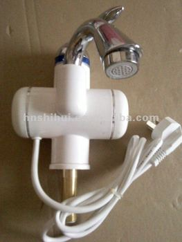 instant electric heating faucet with leakage protection plug