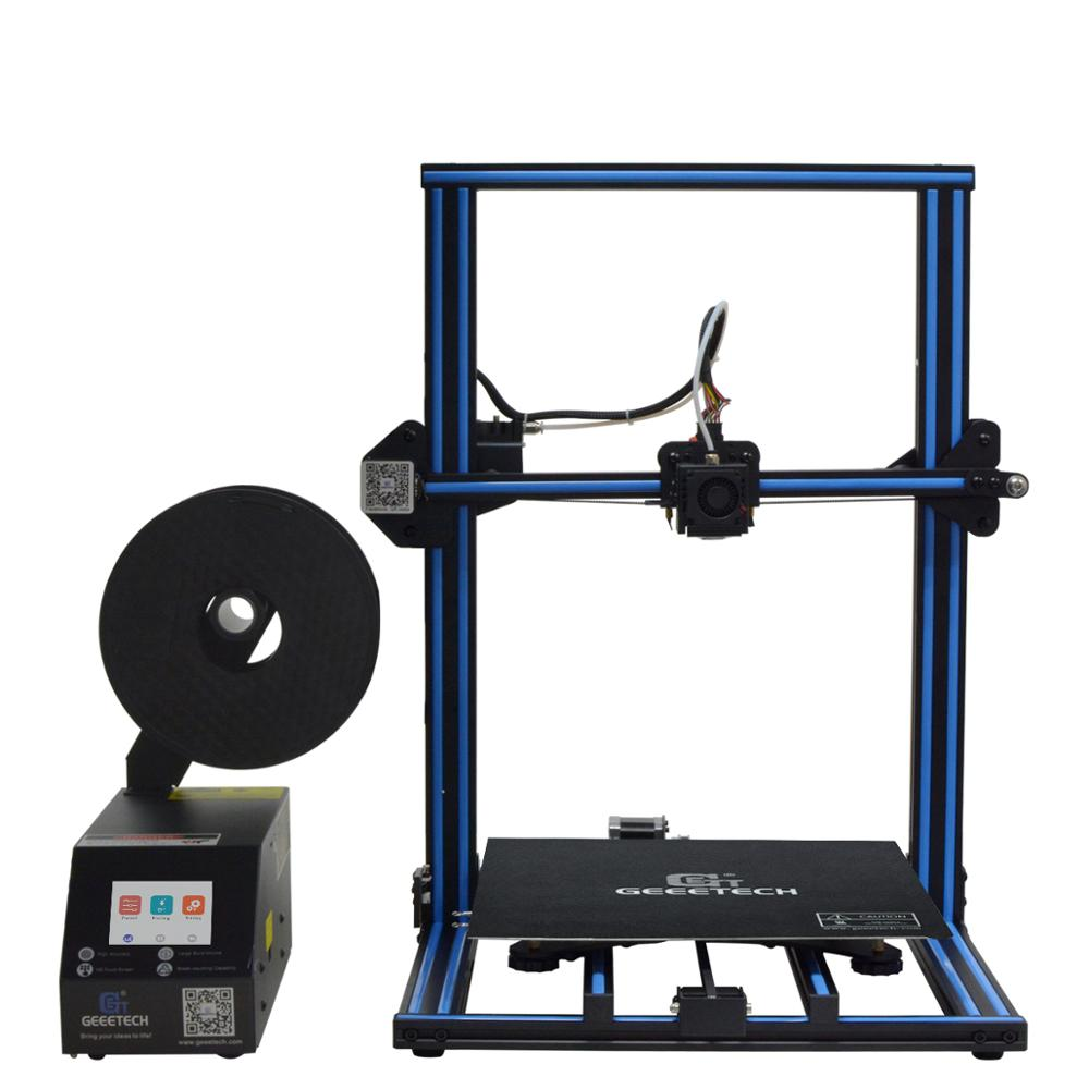Geeetech A30 Large building volume touch screen various filament PLA ABS open source prusa i3 3d printer