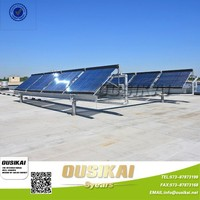 Heat Pipe Solar Collector+Water Pressure Tank+ Working Station, Solar Vacuum System