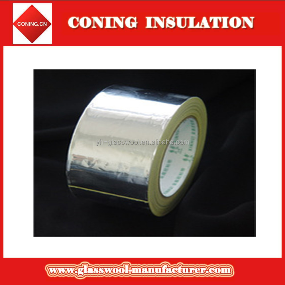 Superior Quality China made low price gold sticky foil tape Aluminum Foil Tape