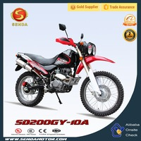Hot Sale Chinese 200CC Dirt Bike Off Road Bike for Sale SD200GY-10A