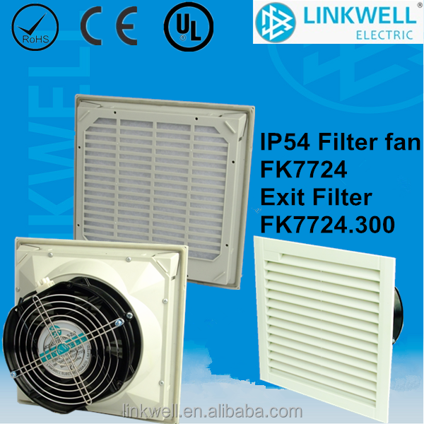 china factory made industrial filter fan with fan, industrial exhaust fan, filter box fans