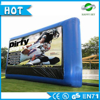 Promotion customized water inflatable billboard,inflatable advertising cartoon,famous product advertisement