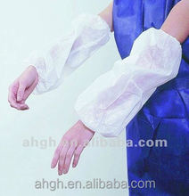 disposable waterproof sleeve covers white for arm
