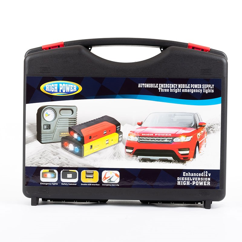 China Multi-function Vehicle Mobile Power Bank Car Jump Starter with compressor