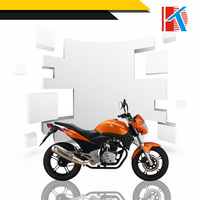 Simple style 15L Fuel Tank Capacity electric or kick starter start mode motorcycle scooter 200cc