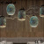 European style hot new lighting for home and hotel vintage 3d glass pendant light