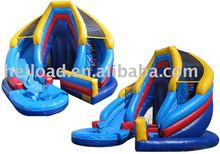 giant inflatable water slide for adult / inflatable slip n slide