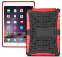 high quality kickstand case For ipad air 2 hybird armor stand case
