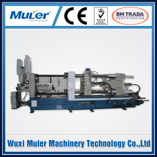 injection control cold chamber magnesium die casting machine