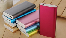 2017 Trending Fashion Colourful Power Bank 20000mAh Power Charger USB Battery Charger for smart phones