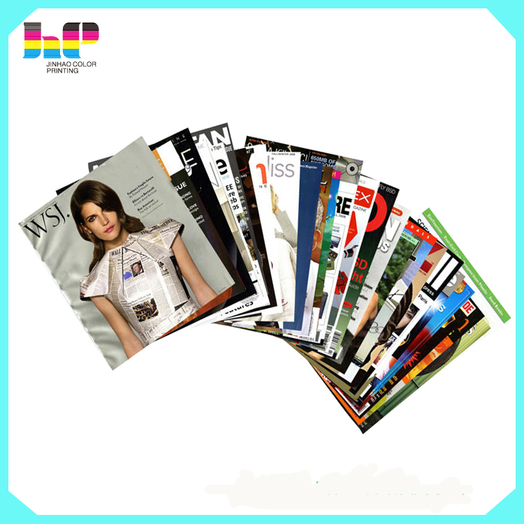 Hot Sale Cheap Magazine Printing, OEM Fashion Magazines Made in China
